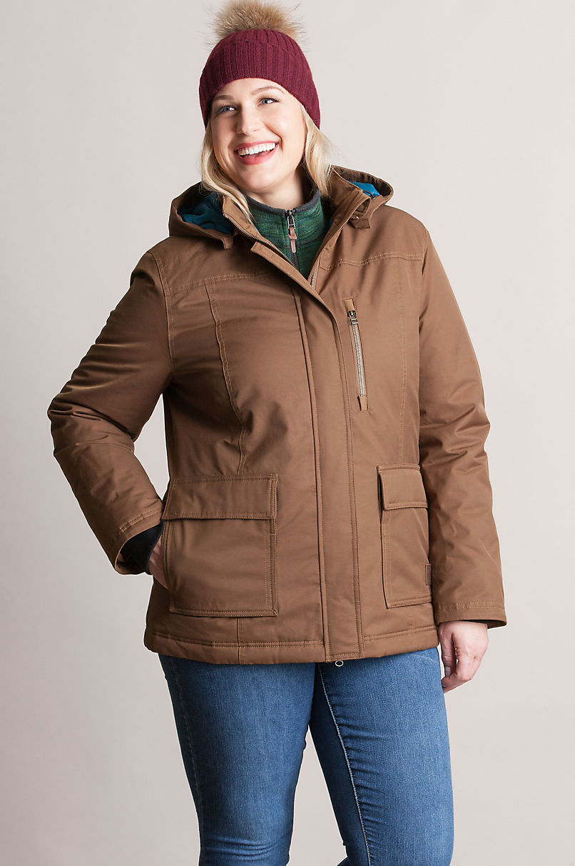 Chelan Waterproof Insulated Parka with Detachable Hood - Plus (18-24)