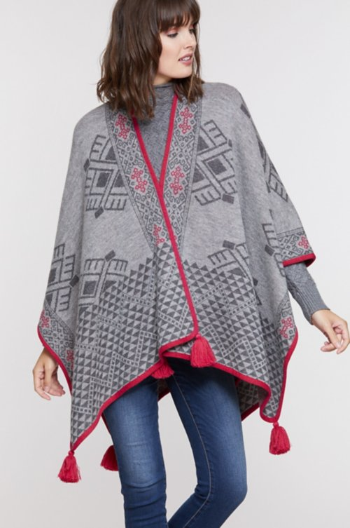 Allison Peruvian Baby Alpaca Wool Cape