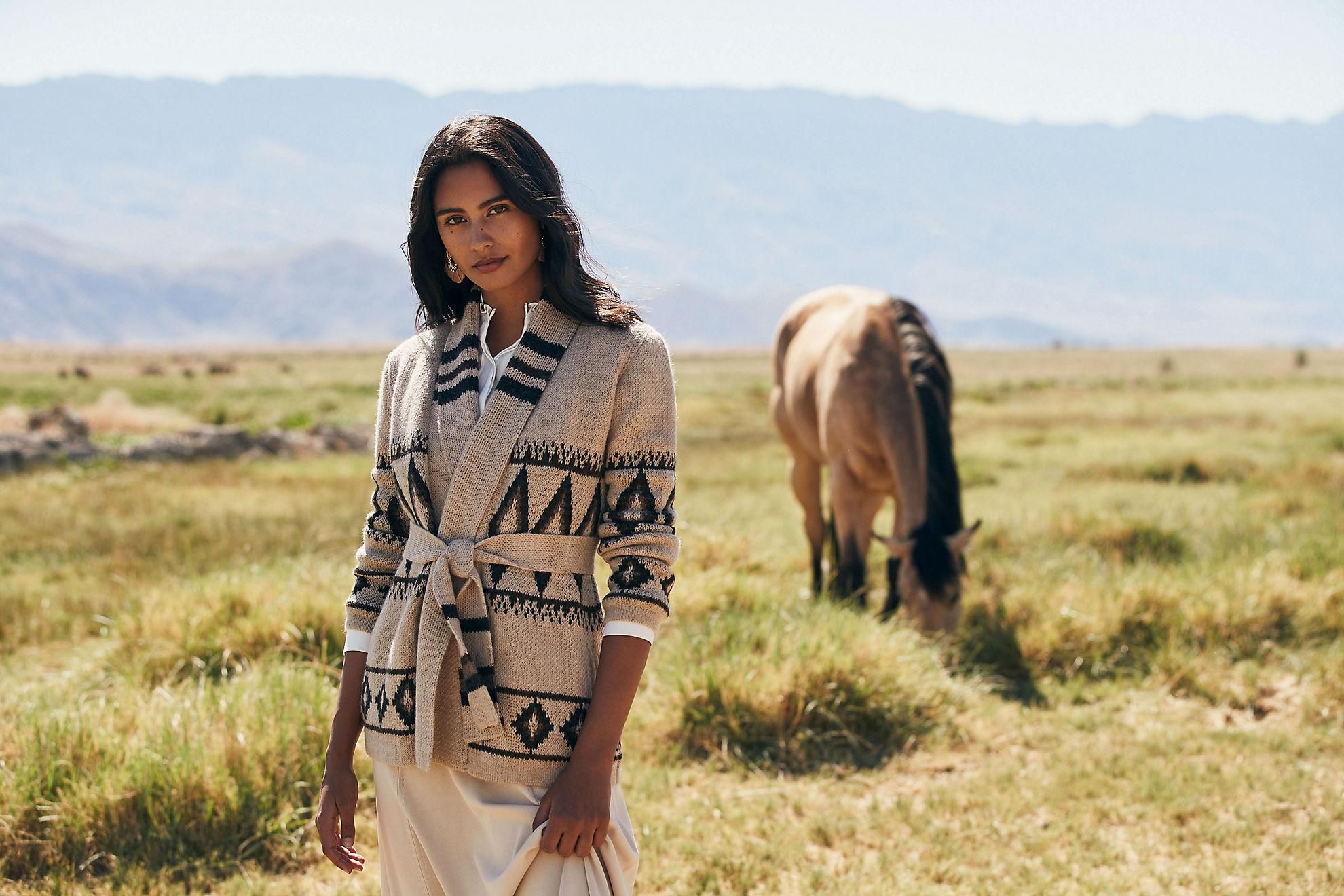 Sylvia Peruvian Alpaca Wool Cardigan