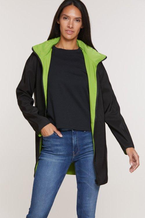 Dora Reversible Raincoat Jacket