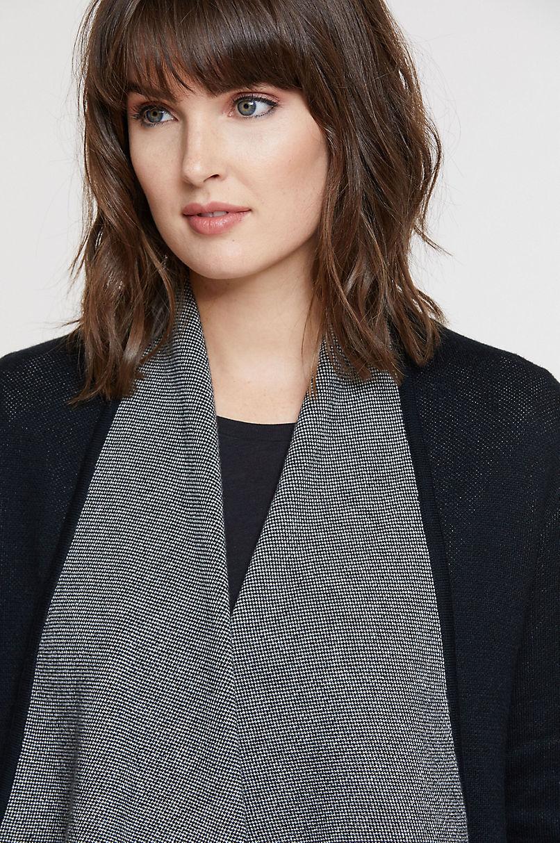 Alessa Organic Peruvian Cotton Cardigan Sweater