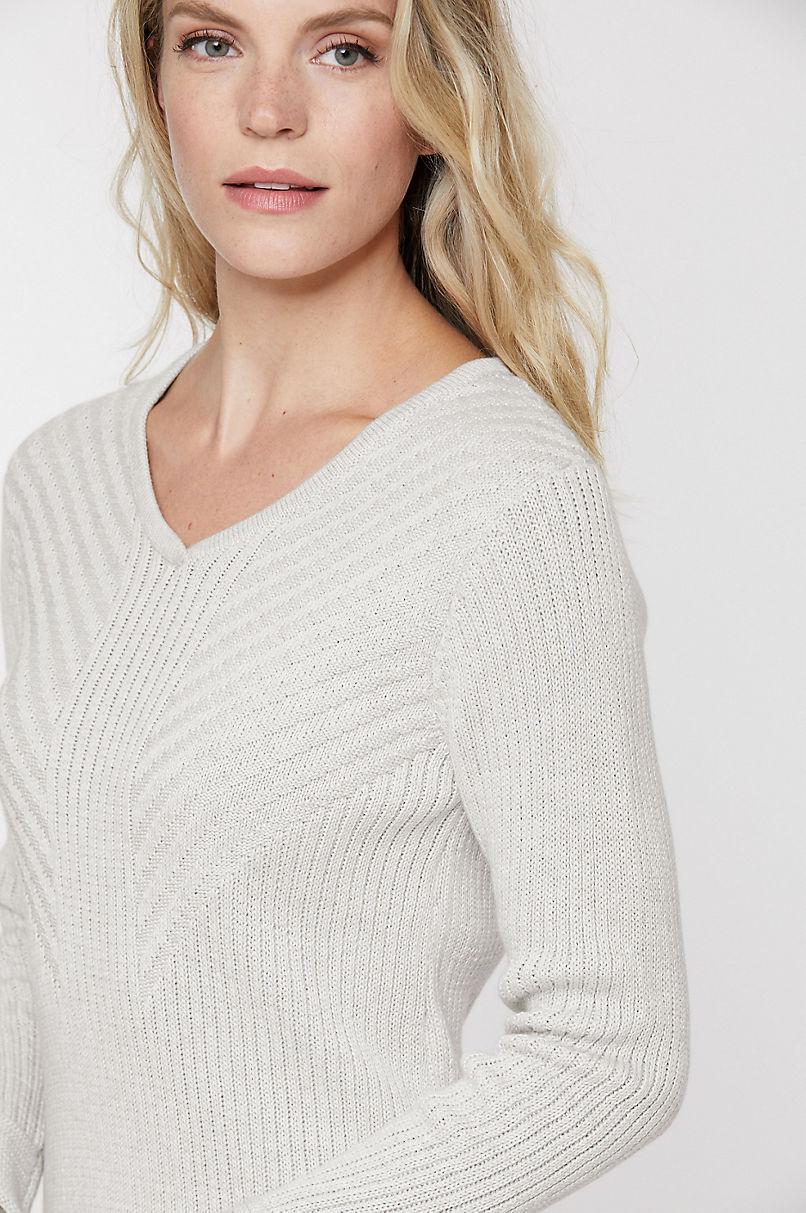 Evy Organic Peruvian Cotton Pullover Sweater