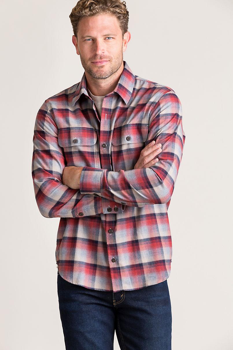 Kenton Plaid Cotton Shirt