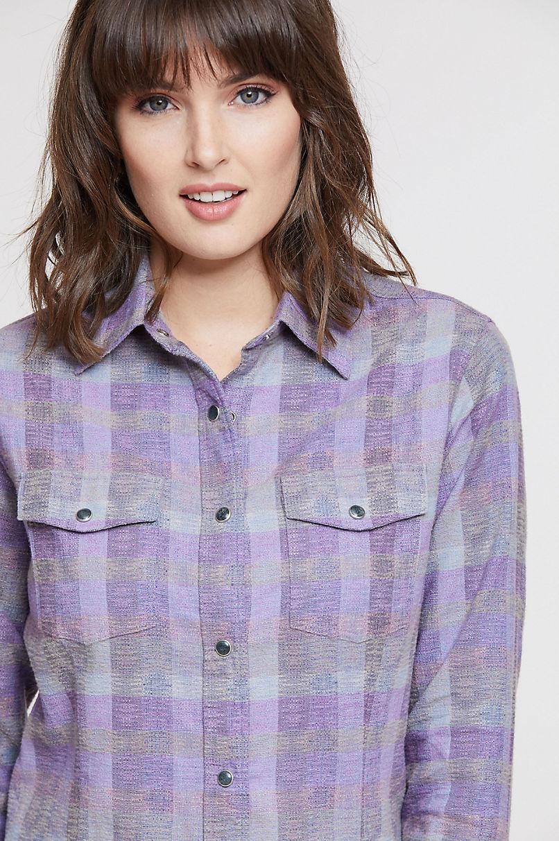 Jenny Cotton Flannel Shirt