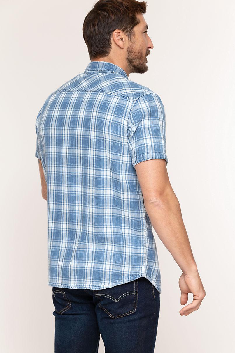 Beau Reversible Cotton Western Shirt