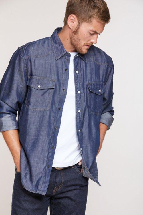 Damon Tencel Western Shirt