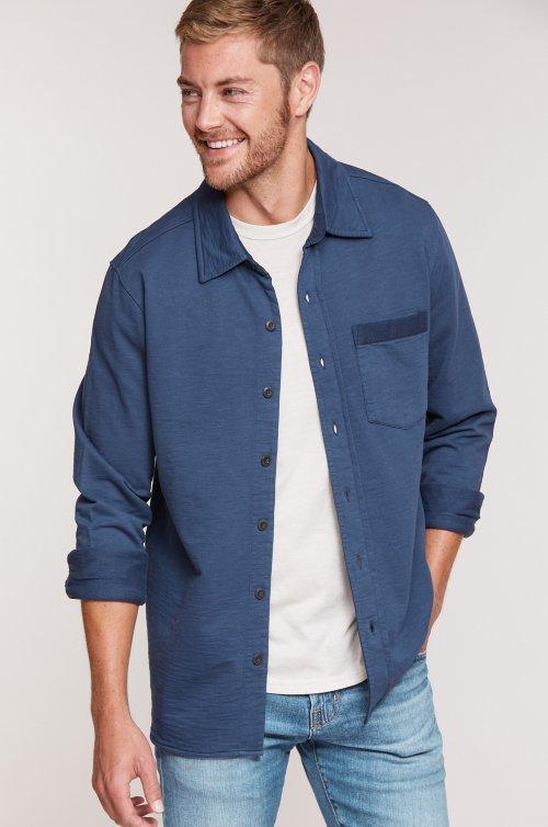 Cannon Knit Heavy Cotton Overshirt