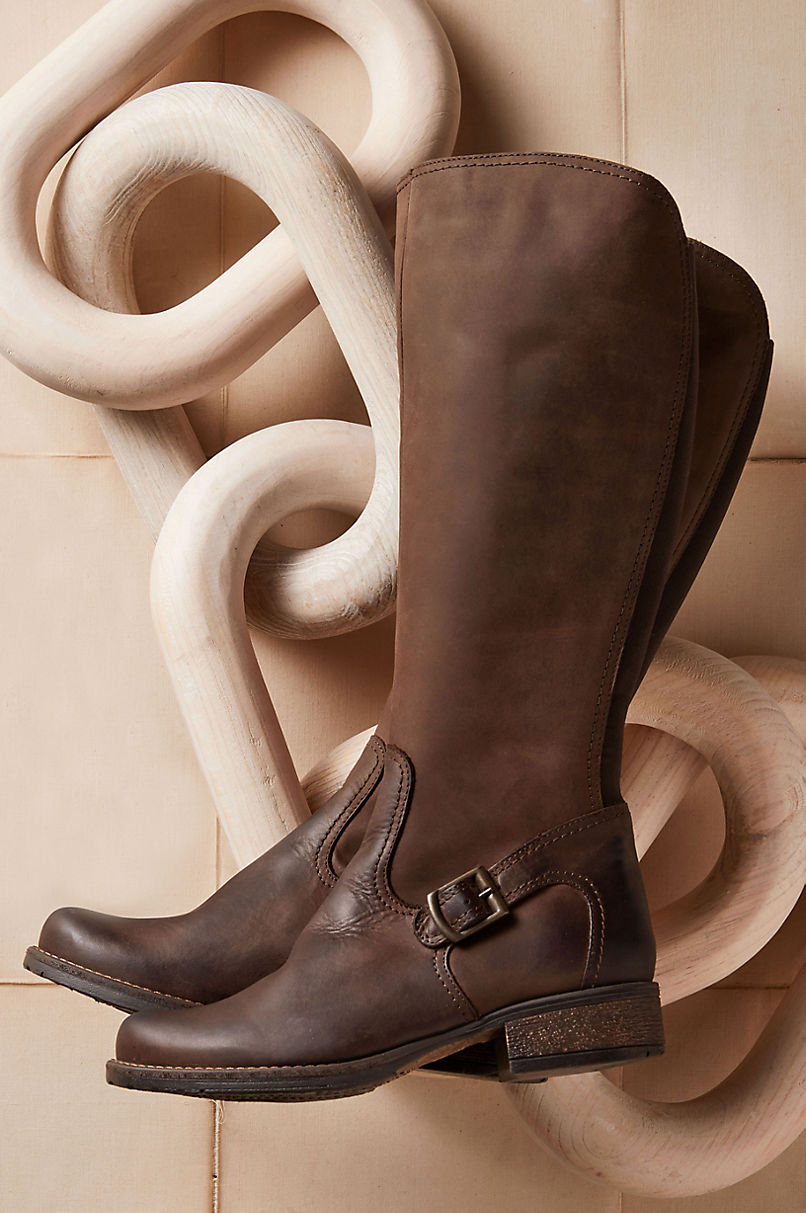 Women's Annie Leather Riding Boots
