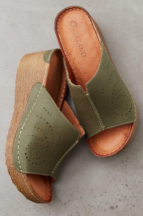 Women's Alexa Leather Wedge Sandals