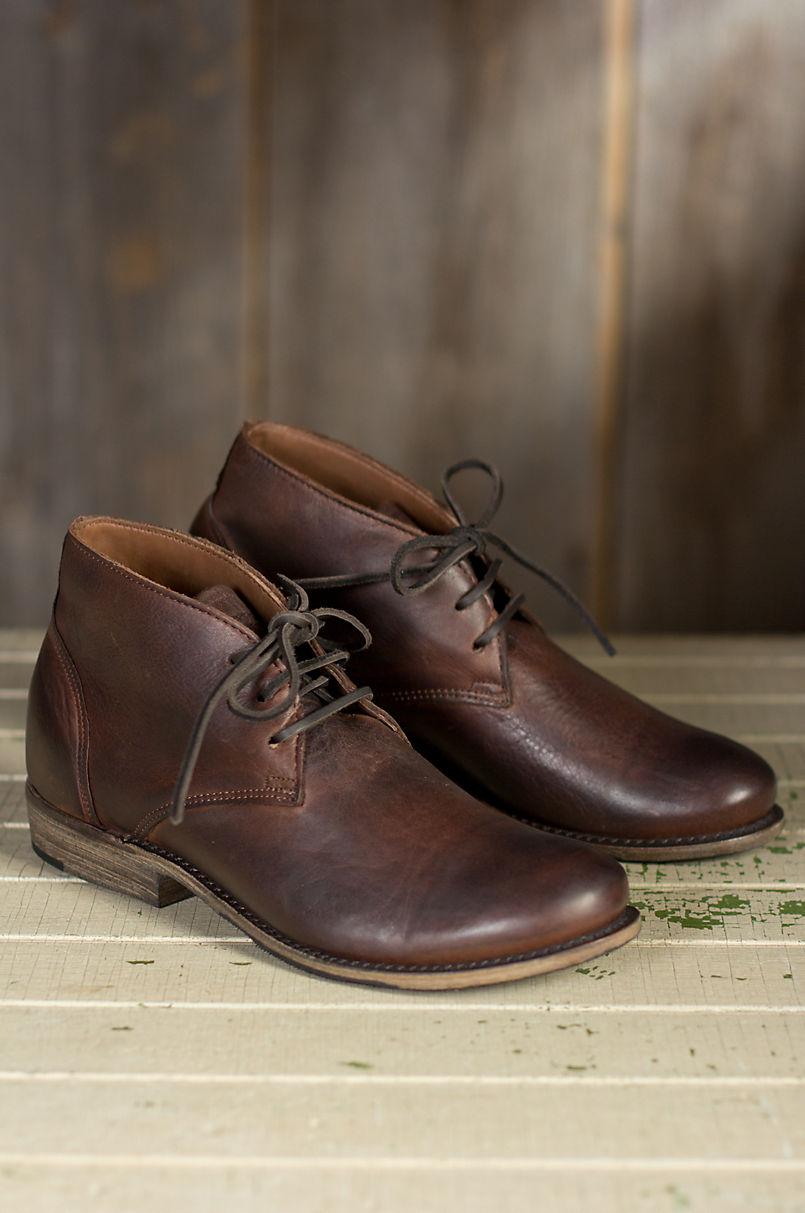 bb5f51fba2f Men's Walk-Over Vaughn Leather Chukka Boots