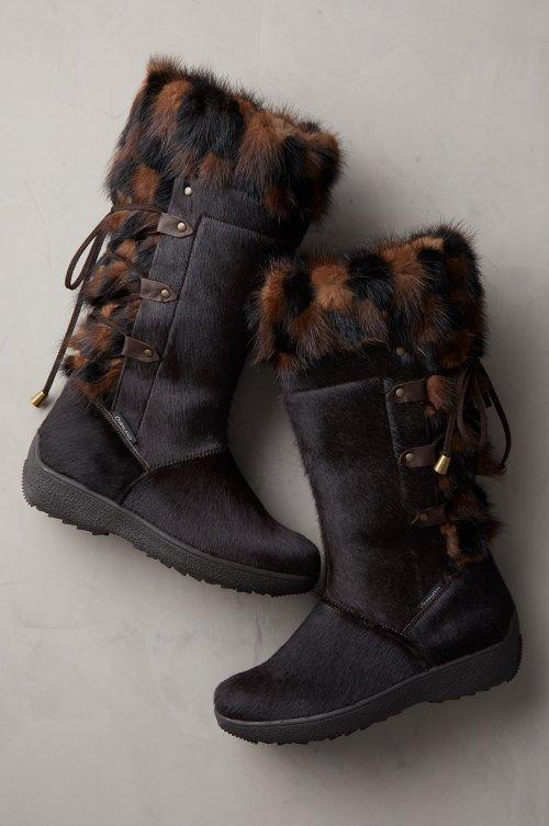 b2fdcf410 Women's Fur Boots | Overland
