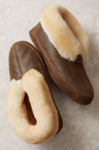 pretty nice huge discount best sell Men's Sheepskin Slippers | Overland