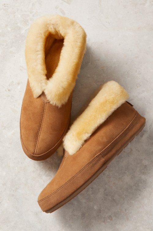 54f5f2932e4b3 Men's Sheepskin Slippers | Overland