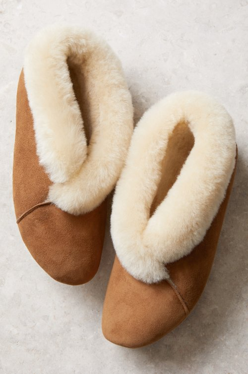 Women's Sophia Soft-Sole Australian Merino Sheepskin Slippers