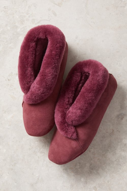 Women's Sophia Australian Merino Sheepskin Soft-Sole Slippers
