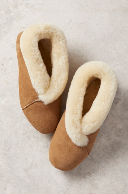 Women's Sophia Soft-Sole Australian Merino Sheepskin Slippers