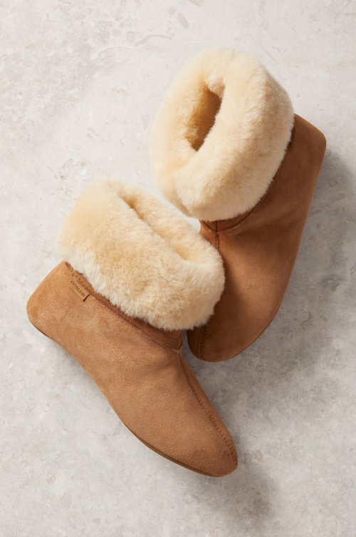 Women's Lily Soft-Sole Australian Merino Sheepskin Slippers