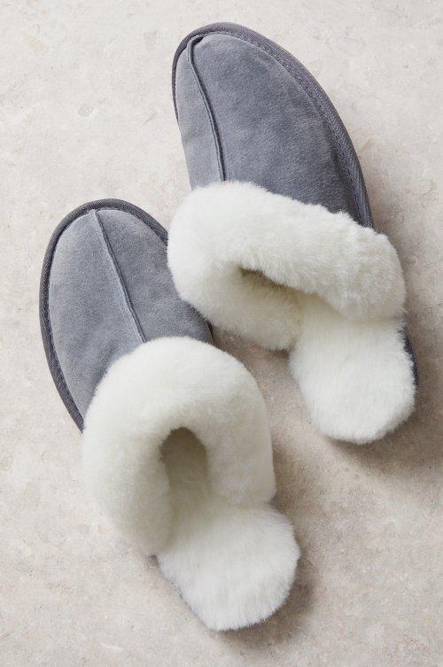 Women's Classic Australian Merino Shearling-Lined Scuff Slippers