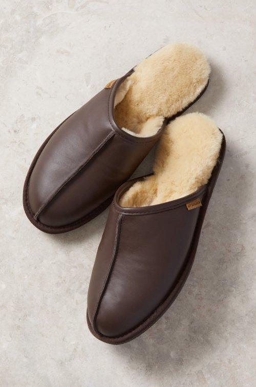 Men's Classic Australian Merino Shearling-Lined Scuff Slippers