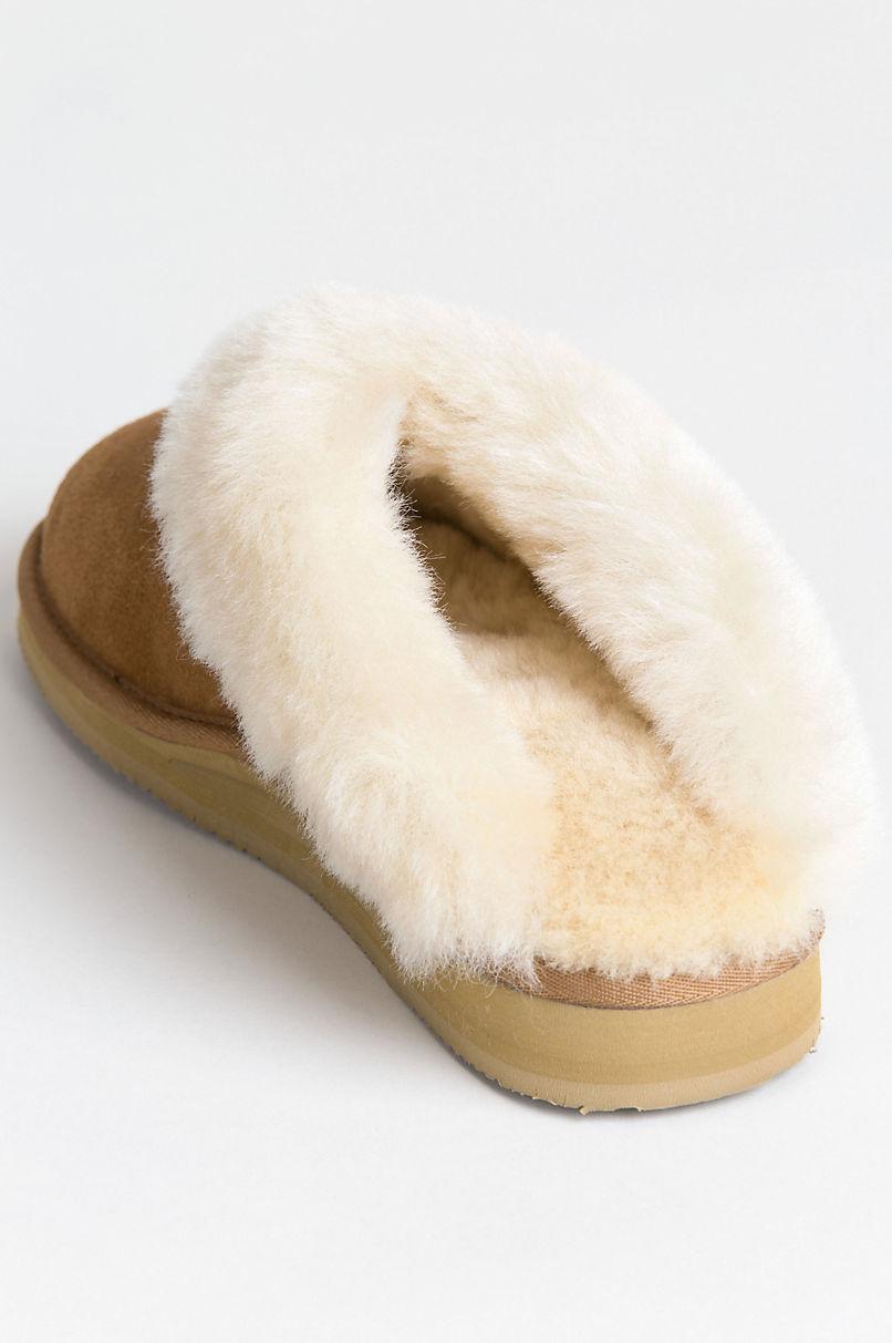 Women's Alyssa Australian Merino Sheepskin Scuff Slippers with Arch Support