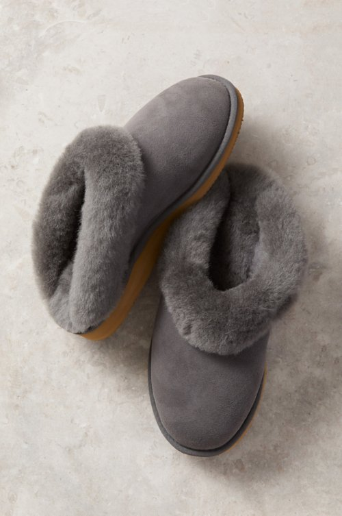 Women's Alyssa Australian Merino Sheepskin Scuff Slippers with Arch Support