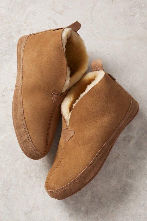 Men's Leo Soft-Sole Australian Merino Sheepskin Slippers