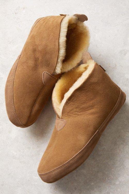 Men's Leo Australian Merino Sheepskin Soft-Sole Slippers