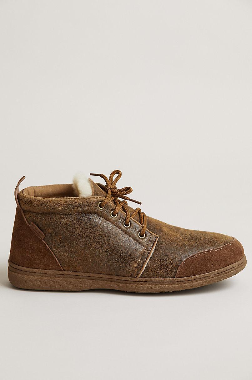 Men's Patrick Australian Merino Shearling-Lined Slipper Shoes
