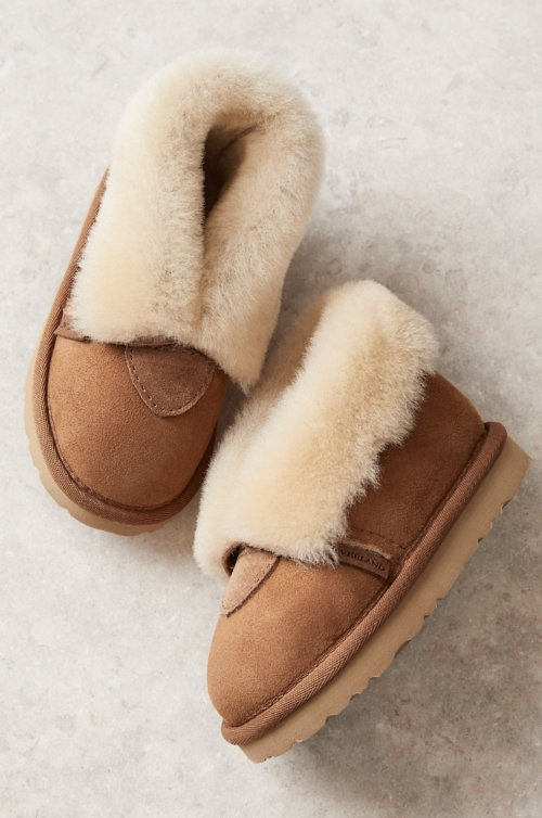 Children's Classic Australian Merino Sheepskin Slippers