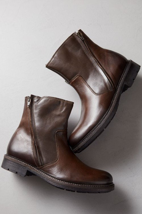 Men's Marvin Wool-Lined Leather Boots
