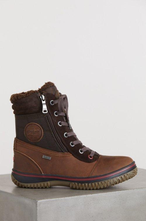 Men's Pajar Trooper Wool-Lined Waterproof Leather Boots