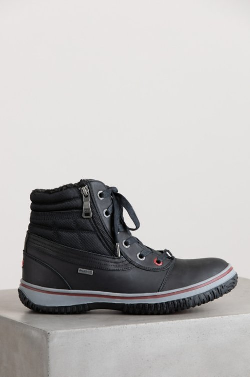 Men's Pajar Tavin Wool-Lined Waterproof Leather Boots