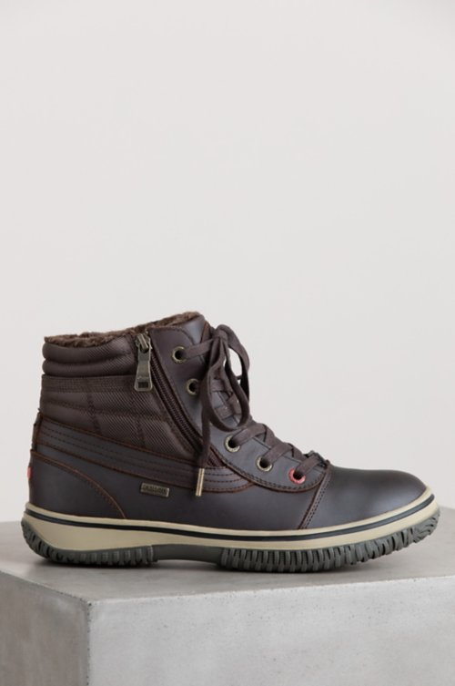Men's Pajar Tavin Wool-Lined Waterproof Leather Boots