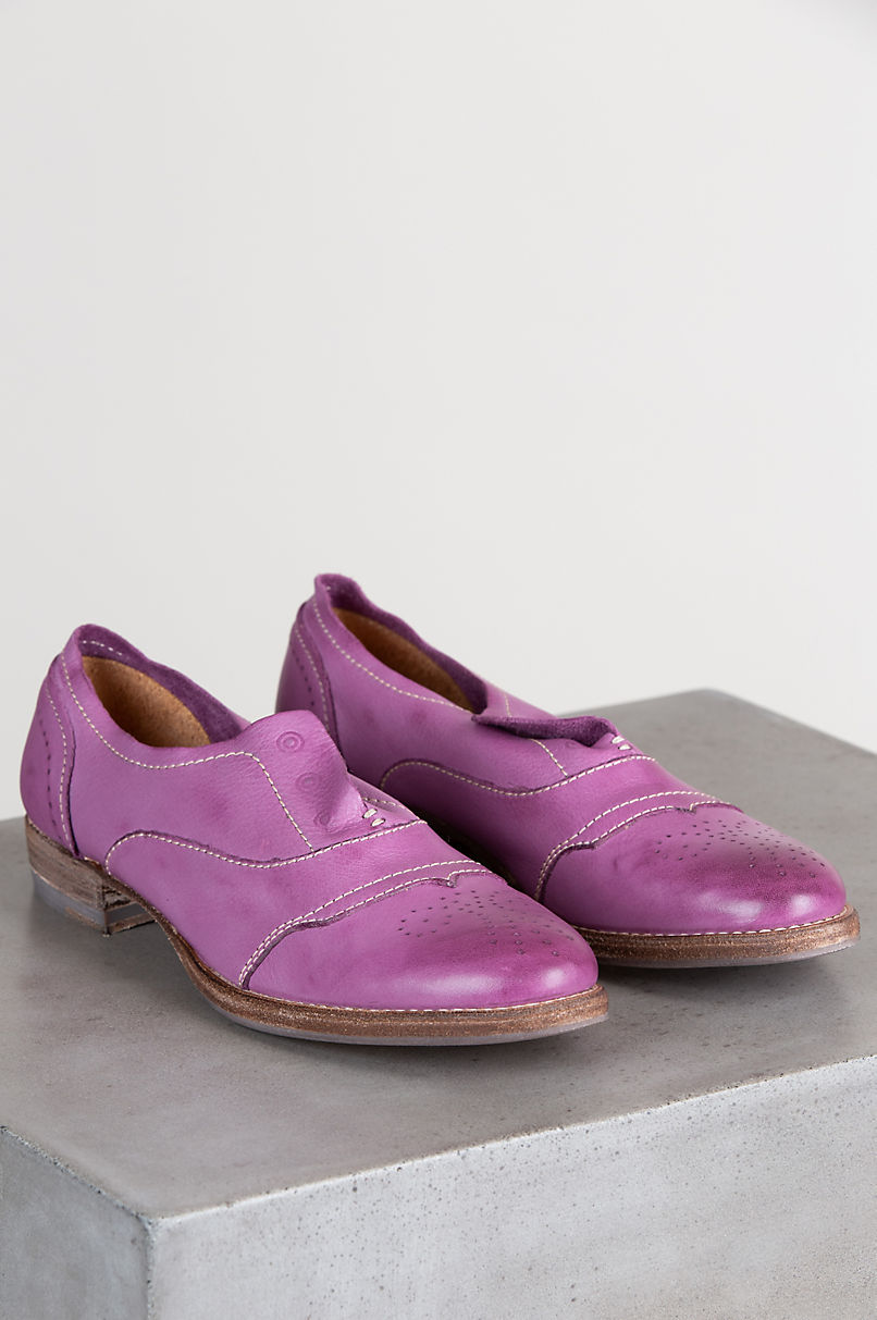 Women's Blackstone HL55 Leather Loafers