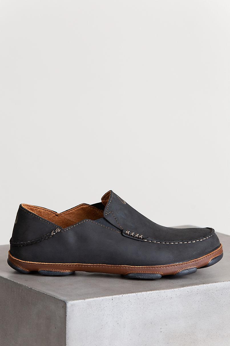 Men's OluKai Moloa Leather Loafers