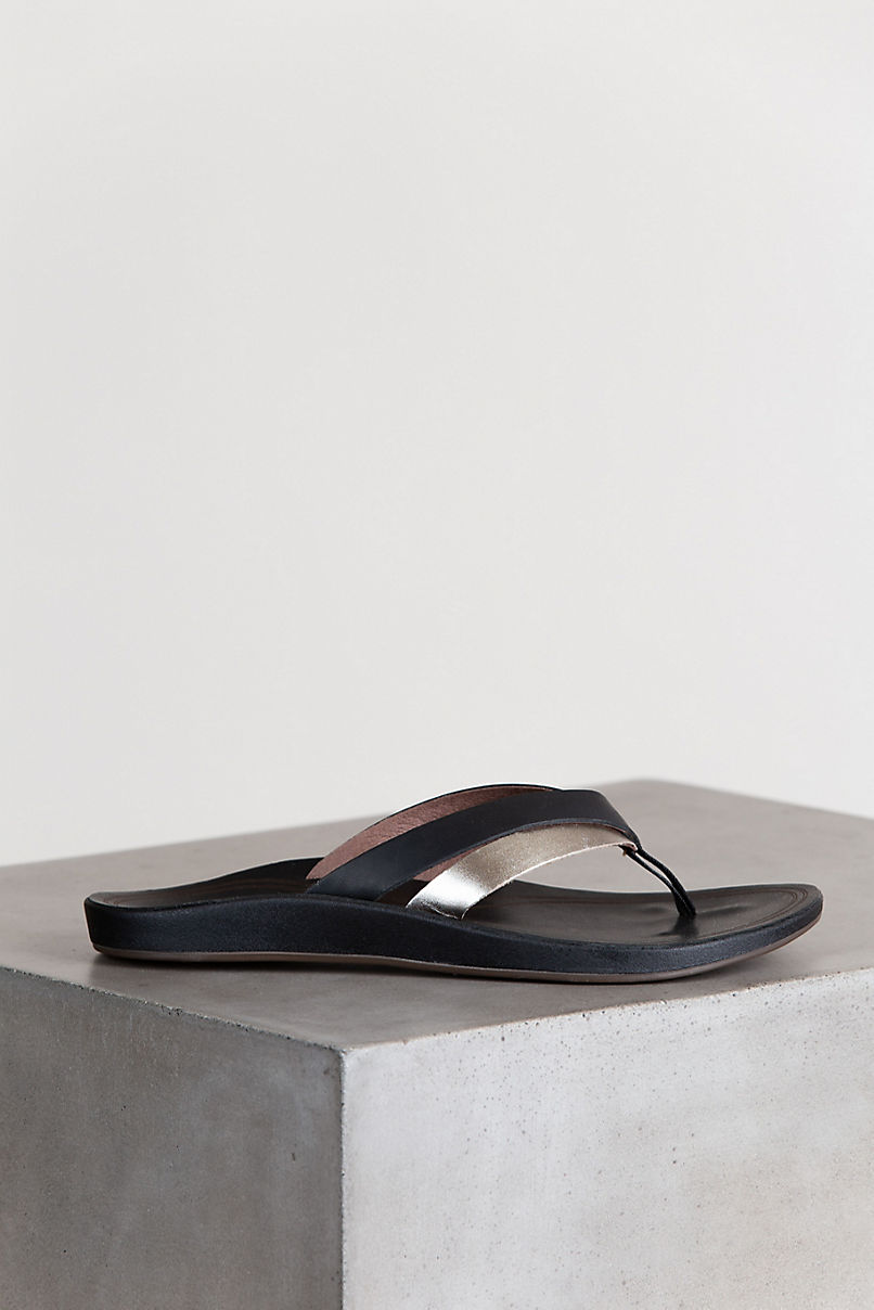 Women's OluKai Kaekae Leather Sandals