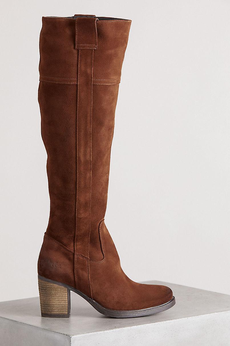 Bos & Co Horton Waterproof Suede Boots