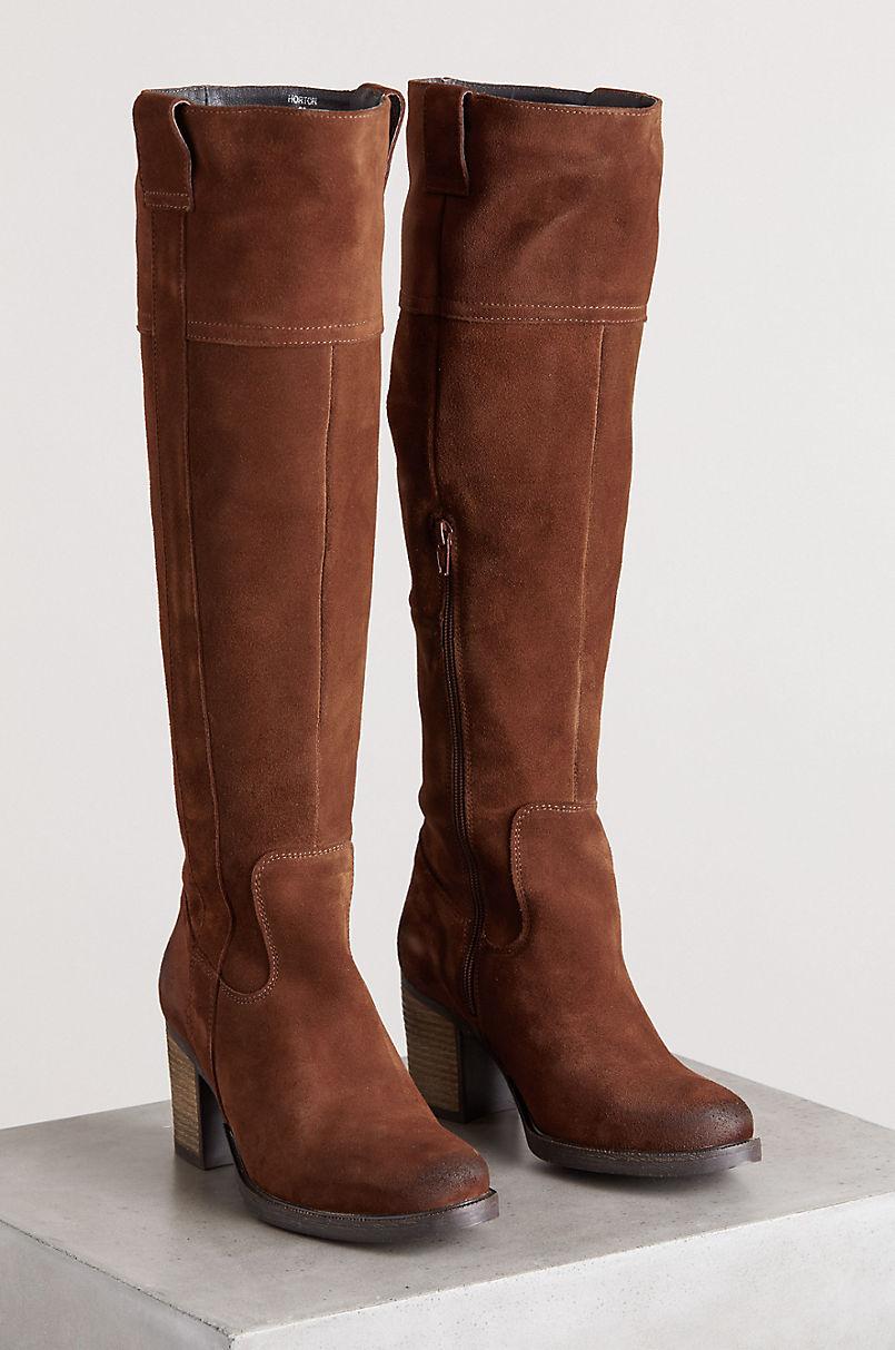 Women's Bos & Co Horton Waterproof Suede Boots