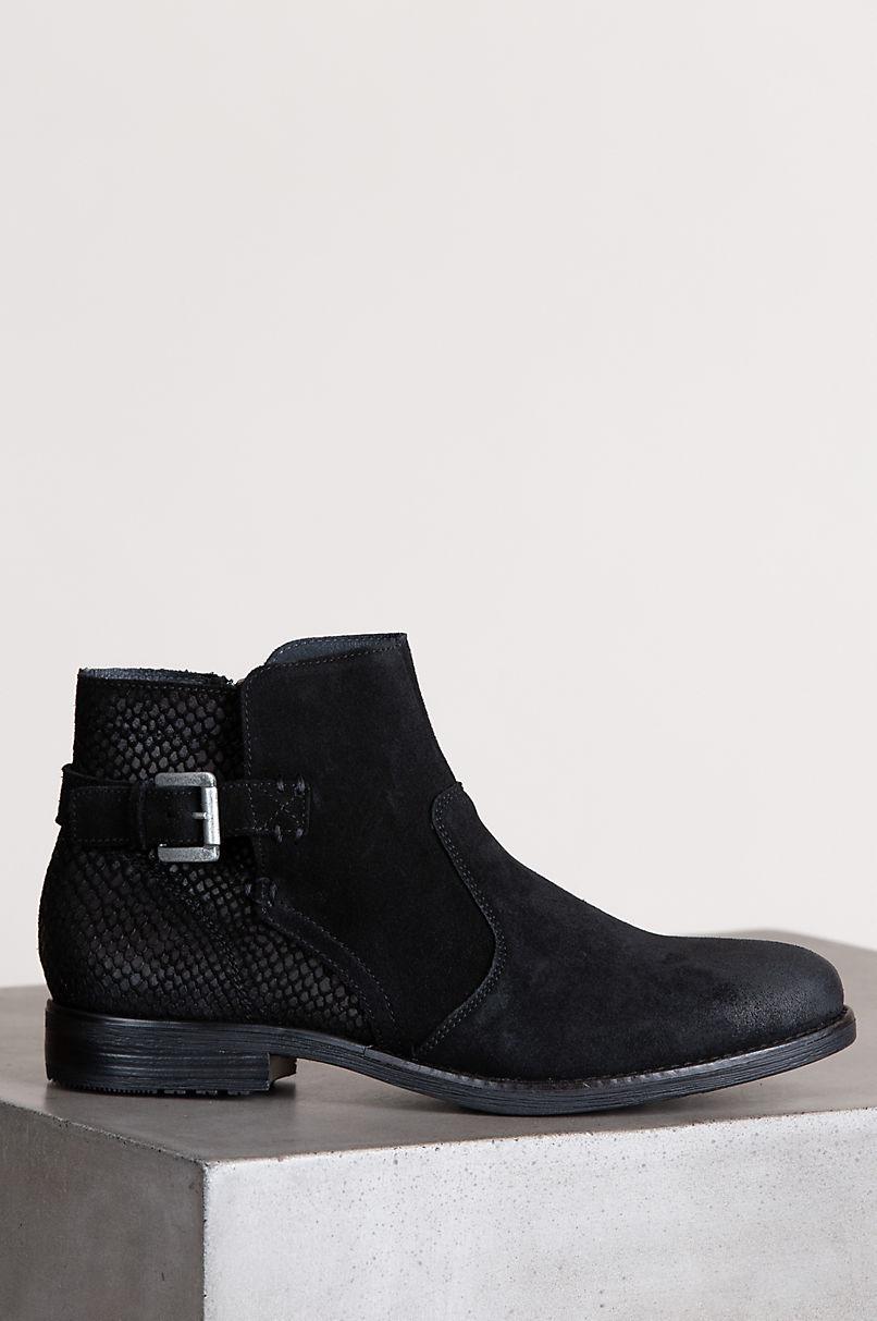 Bos & Co Tryn Waterproof Suede Ankle Boots