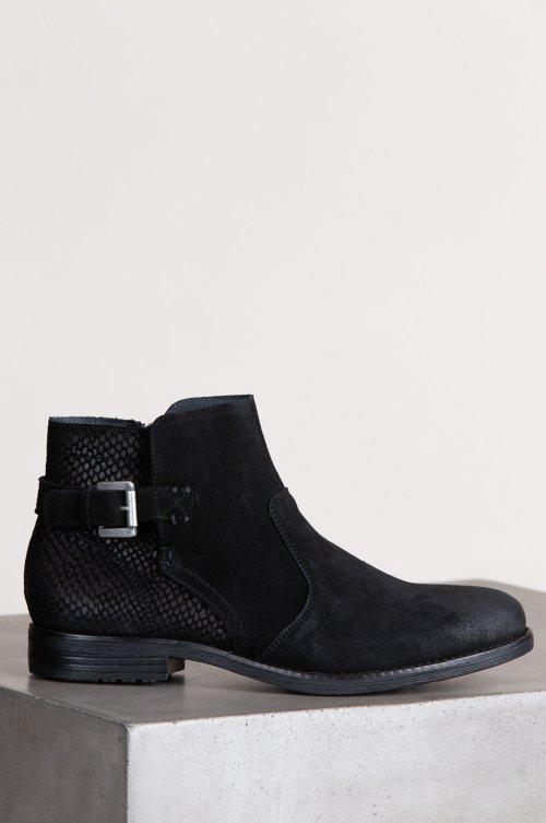 Women's Bos & Co Tryn Waterproof Suede Ankle Boots