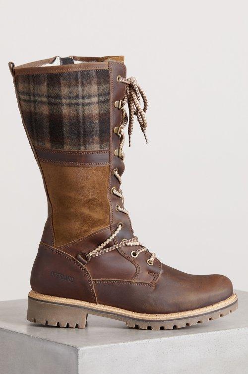 Women's Hailey Wool-Lined Waterproof Leather Boots