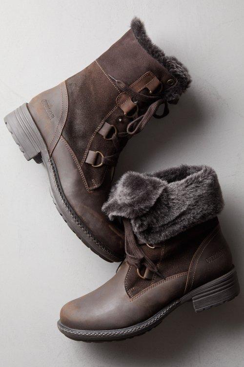 Women's Sono Wool-Lined Waterproof Leather and Sheepskin Hiker Boots