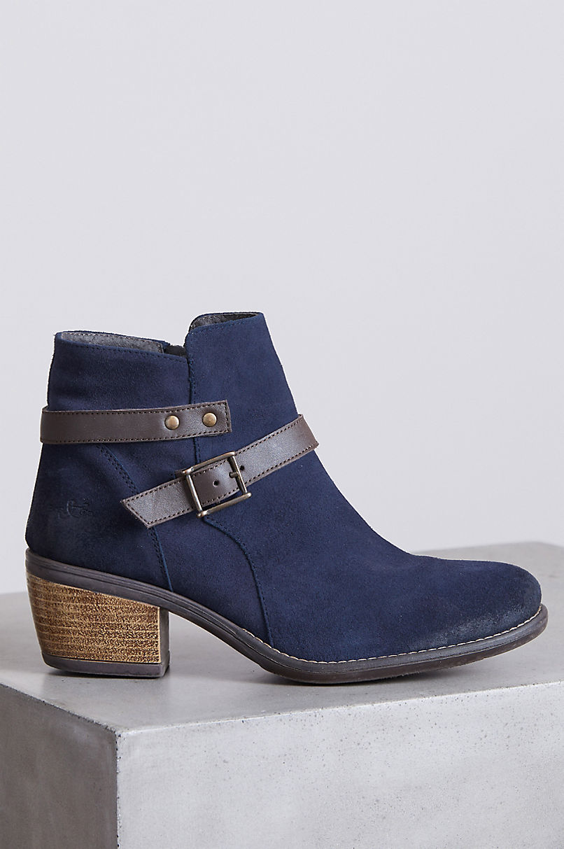 Women's Bos & Co Greenriver Waterproof Suede Ankle Boots