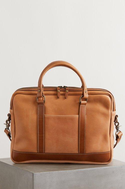 Essex Slim Horween Leather Briefcase