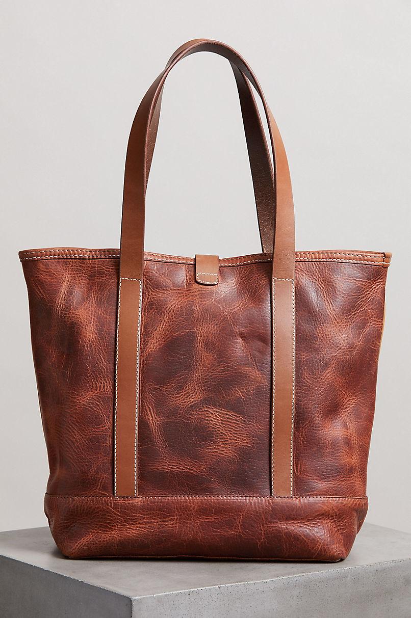 Sedona Vintage Horween Leather Tote Bag