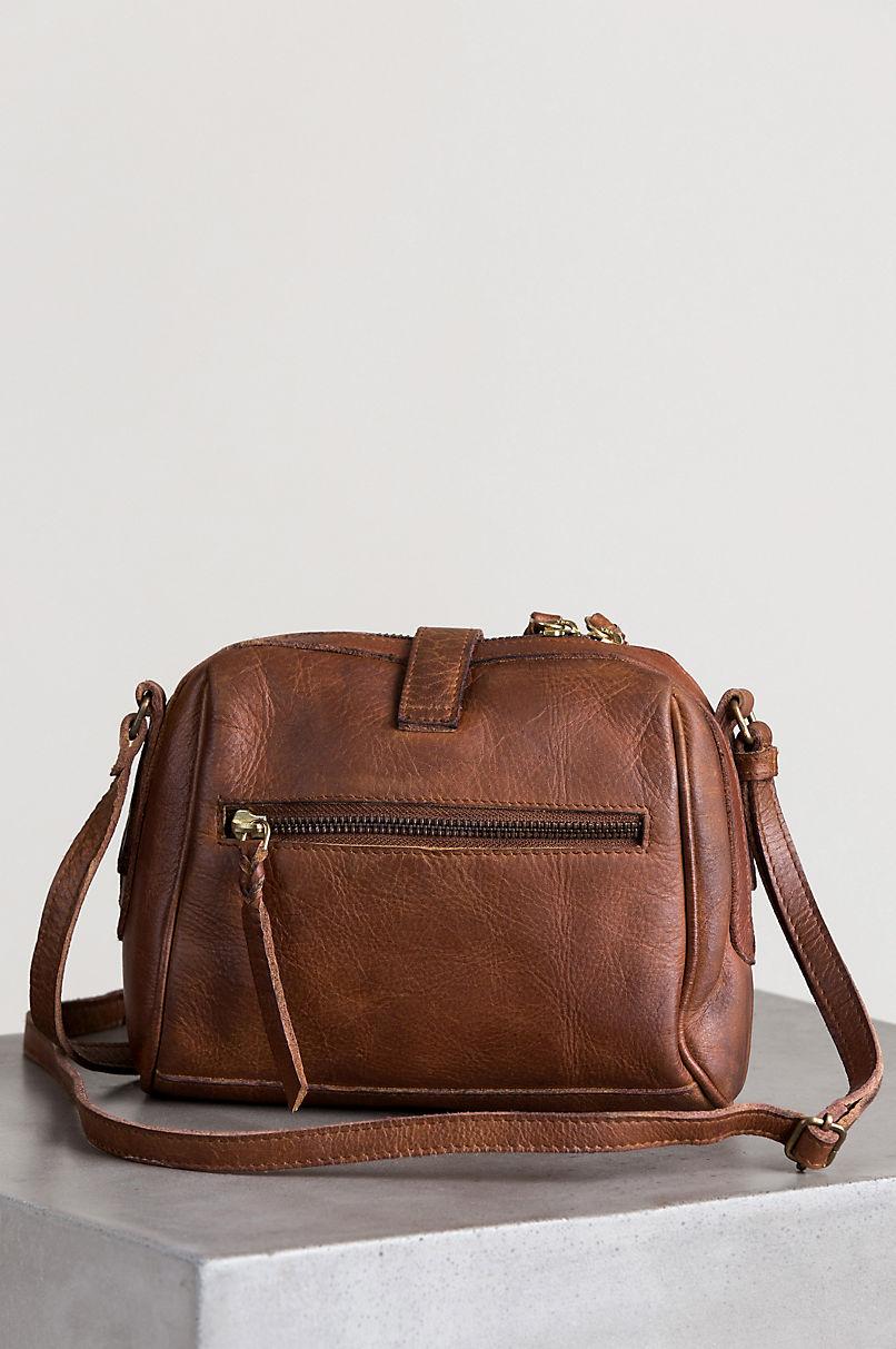 Salem Leather Crossbody Bag