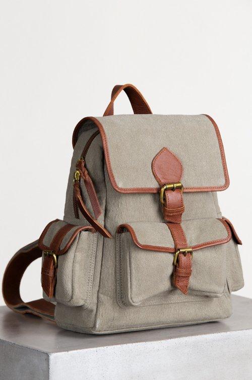 Salem Canvas Backpack Purse