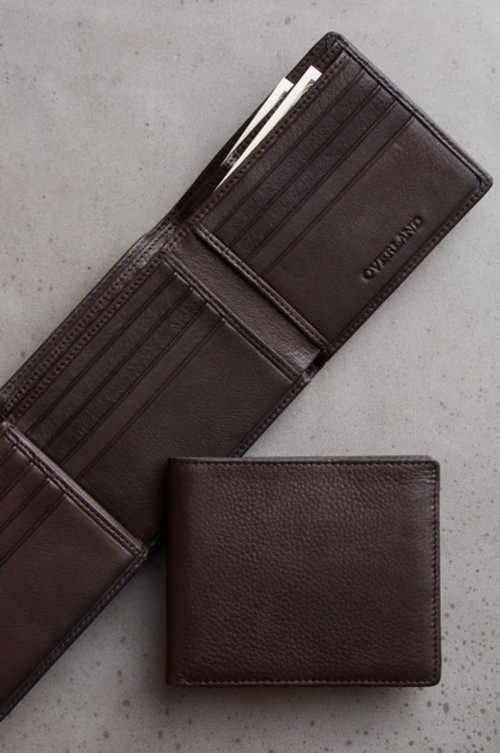 Flipper Leather Billfold Wallet