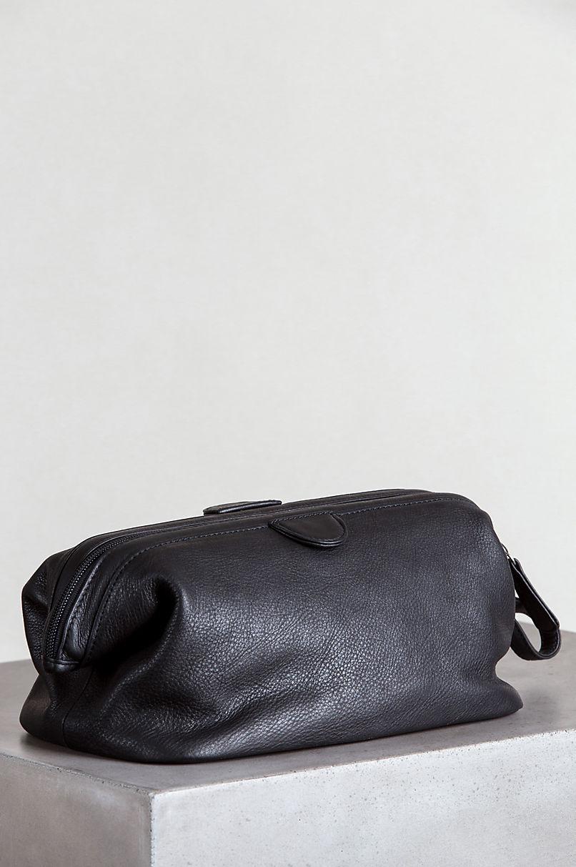 Springdale Facile Top Leather Travel Kit