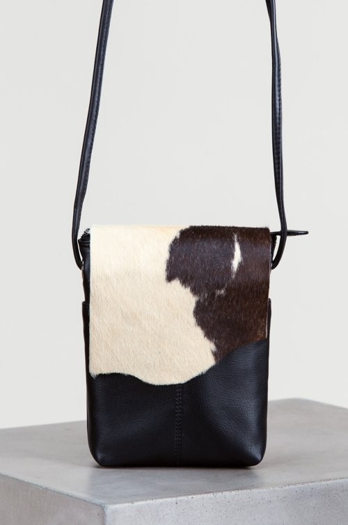 Odessa Small Cowhide Crossbody Bag